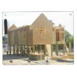 Construcción de la casa de playa pizarras blancas
