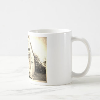 Construcción de la mercancía seca del vintage tazas de café