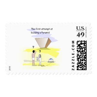 Construcción de las pirámides sellos