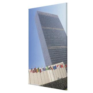 Construcción de Naciones Unidas Impresión En Lona