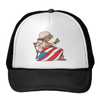 Construcción de una nación gorras
