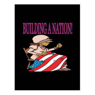 Construcción de una nación postales