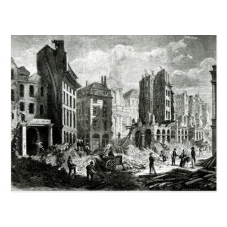 Construcción del bulevar de Sebastopol Postales