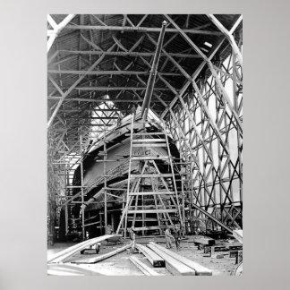 Construcción del Schooner Impresiones