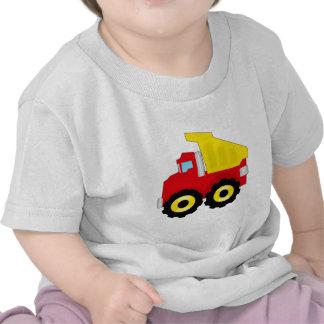 Construcción Dumptruck de los niños Camisetas