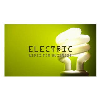 Construcción eléctrica de la electricidad del tarjetas de visita