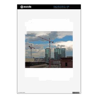 Construcción en Denver céntrica Colorado iPad 2 Skin