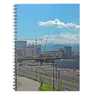 Construcción en Denver céntrica Colorado Libro De Apuntes