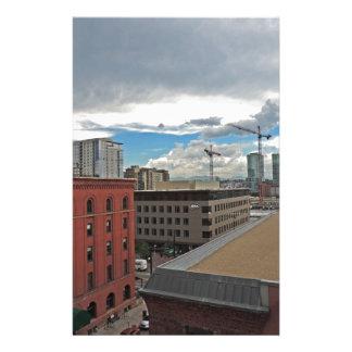 Construcción en Denver céntrica Colorado Papelería Personalizada