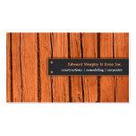 Construcciones/tarjeta de visita de la carpintería