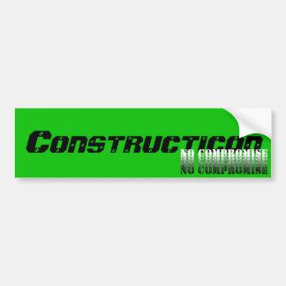Constructicon No Compromise sticker