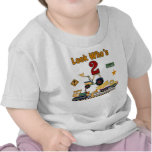 Construction 2nd Birthday Tee Shirts