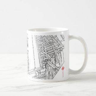 Construction 3 classic white coffee mug