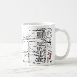 Construction 4 classic white coffee mug