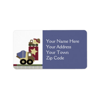 Construction Address Labels