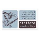 Construction and Carpentry Business Card