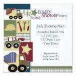 construction_baby_shower2, Jodi Zimmerman, Satu... Personalized Invitation
