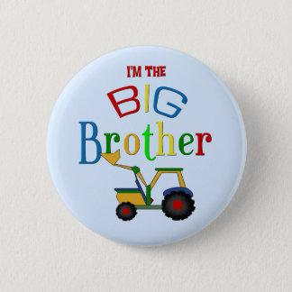 Construction Big Brother Gifts Button