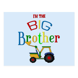 Construction Big Brother Gifts Postcard