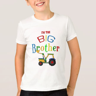 Construction Big Brother Gifts T-Shirt