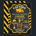 "Construction Birthday Invitation | Dump Truck |<br><div class=""desc"">Dump Truck Birthday Invitation.</div>"