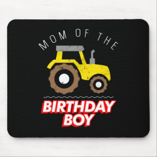 Construction Birthday Party Mom Apparel Mouse Pad