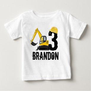 Construction Birthday T Shirts