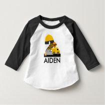 Construction Birthday Shirt, Age 2 Reglan T-Shirt