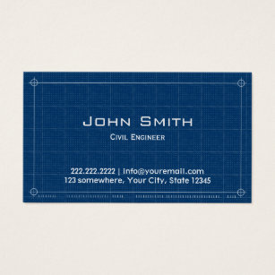 Engineering business cards templates zazzle construction blueprint civil engineer business card flashek Choice Image