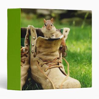 """Construction Boot Chipmunk 1.5"""" Photo Album Binder"""