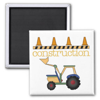 Construction Bucket Loader t-shirts and Gifts Refrigerator Magnet
