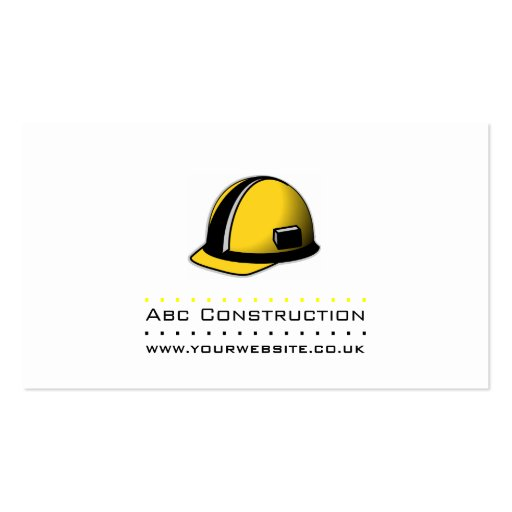 Construction/Builder Business Card