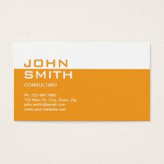 Construction Builder Contractor Mechanic Plain Business Card at Zazzle