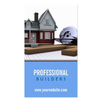 Building and Construction Business Cards - Business Cards Galore