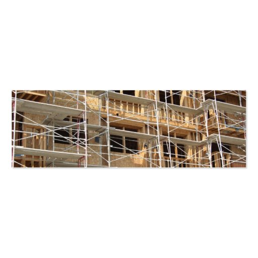 Construction Double-Sided Mini Business Cards (Pack Of 20)