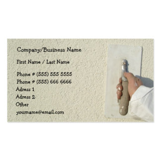 Construction Business Card Pack Of Standard Business Cards