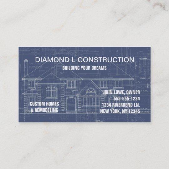 Construction business card zazzle construction business card colourmoves