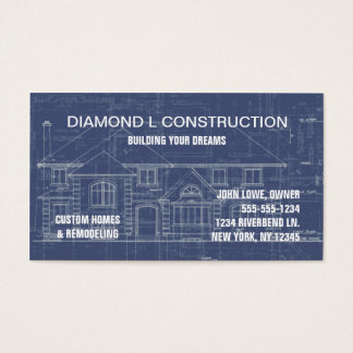 Construction business cards 4400 construction business card construction business card reheart Gallery