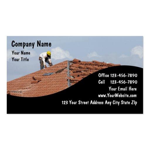 Construction Business Cards : Zazzle