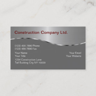 Construction business cards 4400 construction business card templates construction business cards colourmoves