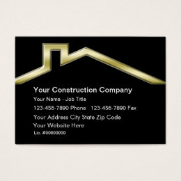 House remodelling business cards templates zazzle construction business cards reheart Gallery