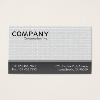 Construction - Business Cards
