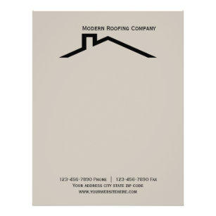 Construction letterhead zazzle construction business letterhead thecheapjerseys Choice Image