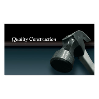 Construction Card Double-Sided Standard Business Cards (Pack Of 100)
