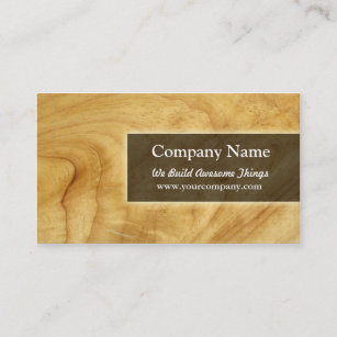 Woodworking Business Cards Zazzle - Carpenter business card template