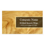 construction/carpentry business card template