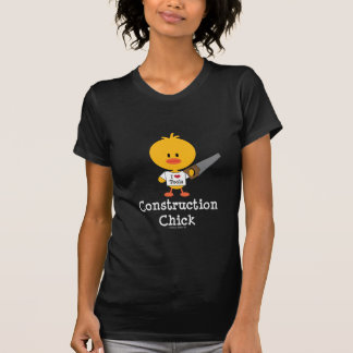Construction Chick T shirt