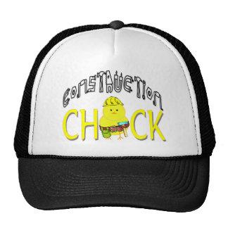 Construction Chick Trucker Hat