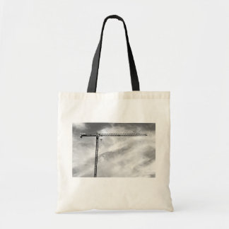 Construction Crane Budget Tote Bag