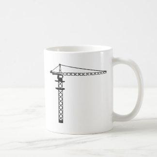 Construction Crane Coffee Mug